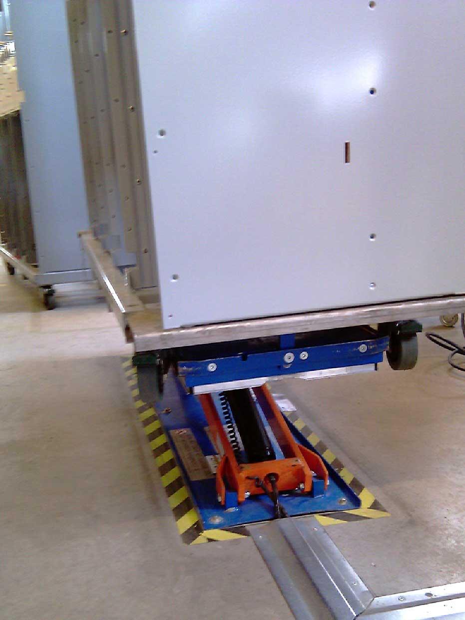 Platforma hidraulica EdmoLift Romania TCL 1000
