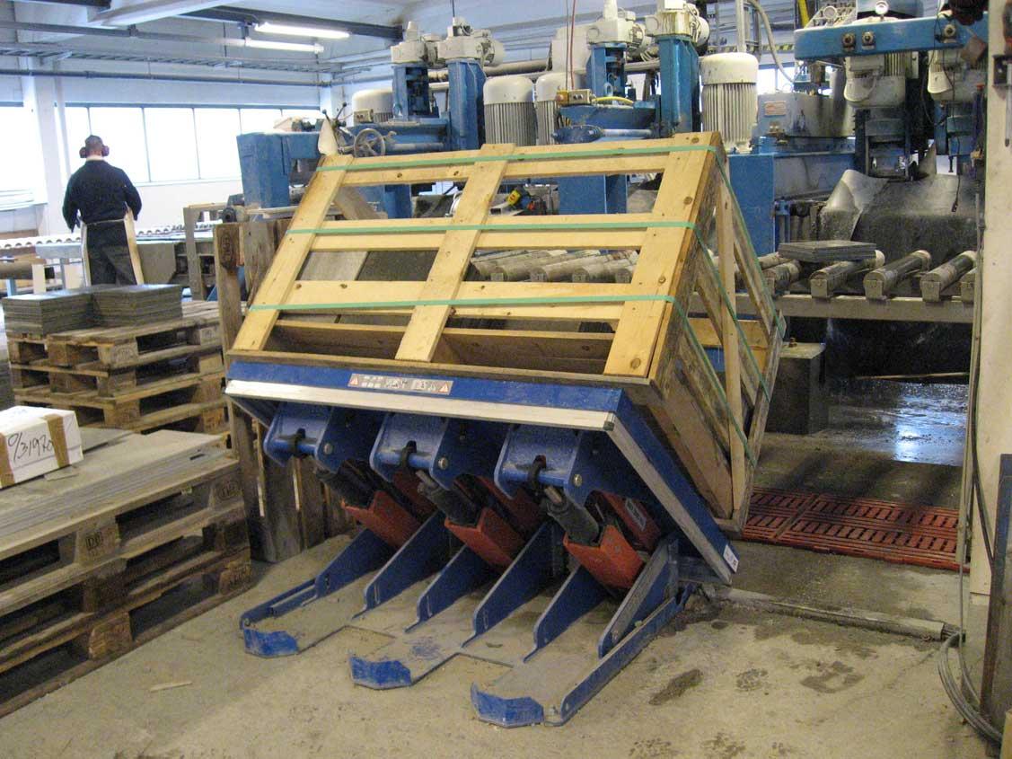 Platforma hidraulica inclinabila si ridicatoare EdmoLift Romania ART 3000