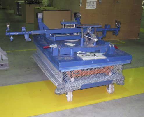 Platforma hidraulica EdmoLift TLD 1000 - Montaj motor autovehicul