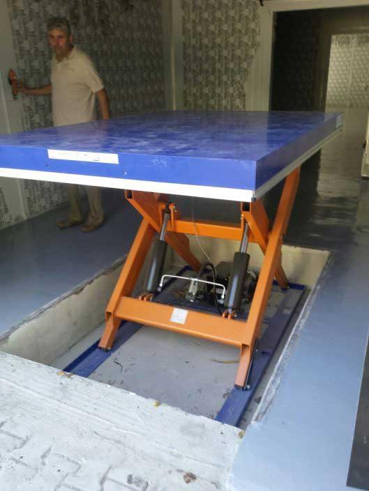 Platforme hidraulice, EdmoLift - TS 2000B