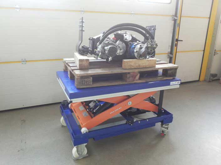 Platforma hidraulica ridicatoare EdmoLift - CL 2000