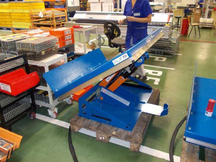 Platforme hidraulice inclinabila, EdmoLift - ART 750
