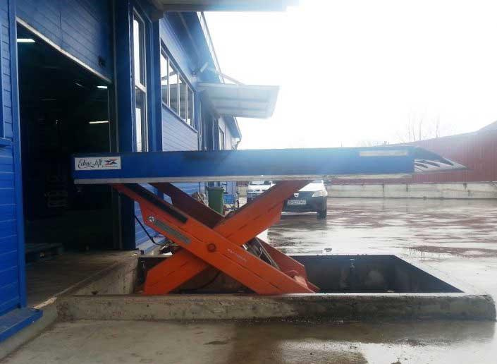 Platforma hidraulica - EdmoLift - TTV 2B