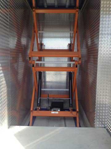 Platforme lift hidraulic - EdmoLift Romania - TTD 3000