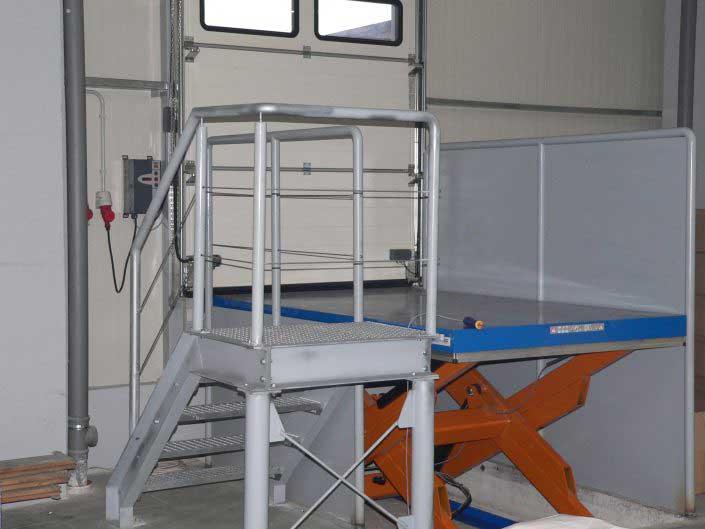 Mese ridicatoare hidraulice, EdmoLift - TT 3000