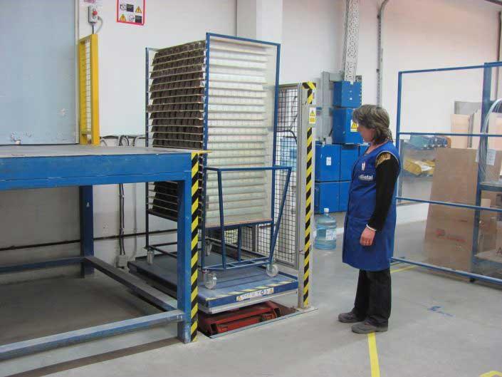 Lift hidraulic EdmoLift Romania - CLD 1500