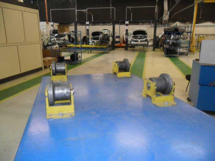 Mese mobile hidraulice, EdmoLift - TLH 4000